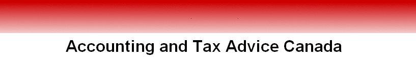 tax advice canada